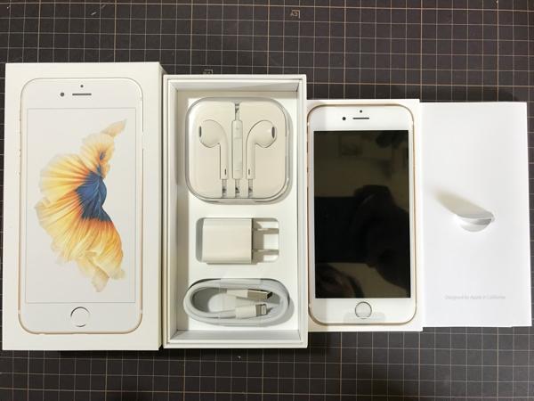 ◆◆新品◆◆iPhone6S 32GB ゴールド 残債無し 半年後SIMフリー化可能◆◆◆_画像2