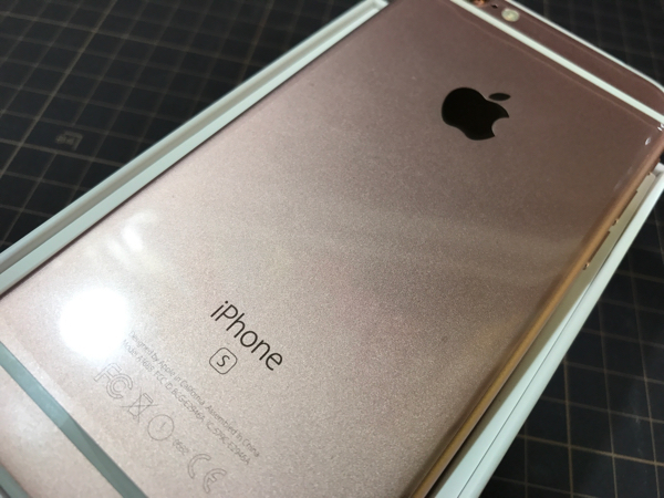 ◆◆新品◆◆iPhone6S 32GB ローズゴールド 残債無し 半年後SIMフリー化可能◆◆◆