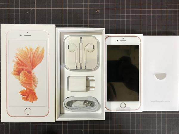 ◆◆新品◆◆iPhone6S 32GB ローズゴールド 残債無し 半年後SIMフリー化可能◆◆◆_画像2