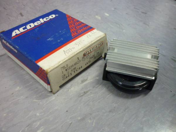 ACDelco インテリアランプスイッチ D1547D シボレー アストロ ブレイザー