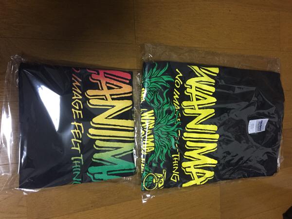 wanima 新品T-シャツ 2枚!! Lサイズ ライブグッズの画像