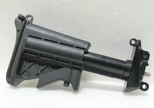 即決 実物 M249 MINIMI SAW ミニミ インプルーブド コラプシブル バットストック 5ポジション 可変ストック_画像2
