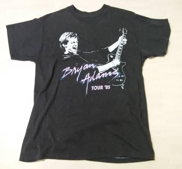 Bryan Adams ブライアンアダムス Tシャツ L 80's ブライアン・アダムス BryanAdams ブライアン アダムス