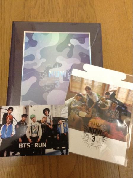 防弾少年団 BTS DVD NOW3 韓国盤 ライブグッズの画像