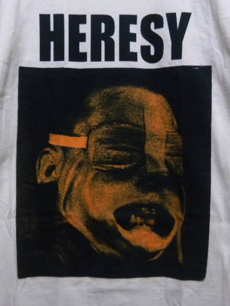 HERESY Tシャツ napalm death anal cunt blast carcass discharge dri sob doom concrete sox boredoms slayer fugazi accused kyuss ent