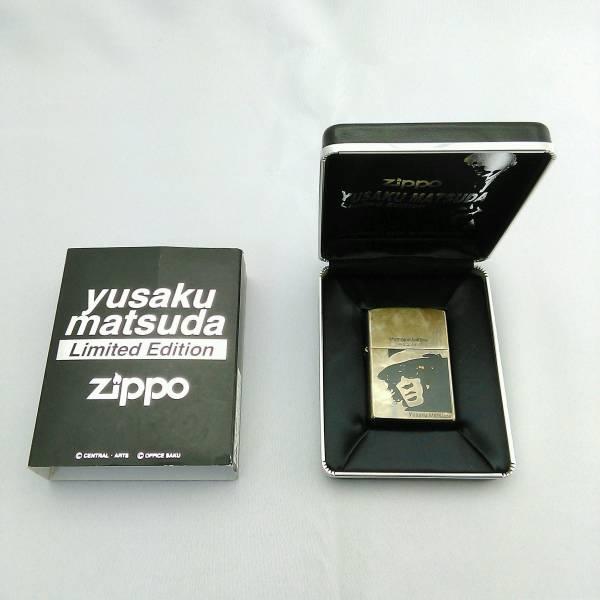 希少レア限定 松田優作 ジッポ ZIPPO Limited Edition