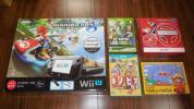 Wii U 32GB マリオカート8セット+ソフト7本付 スプラトゥーン スマブラ他