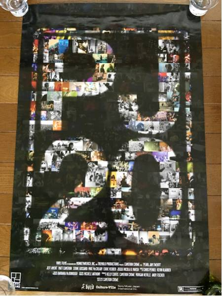 ◎フリマ【ポスター】PEARL JAM 20☆パールジャム