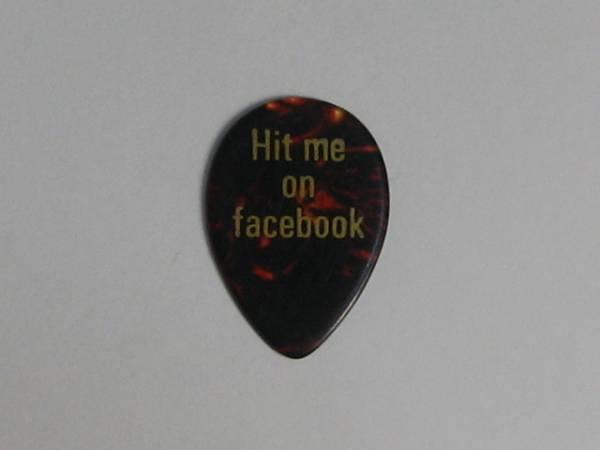 TOTO Steve Lukather スティーヴ・ルカサー 2014 Tour ギターピック