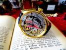 美しい彫金を眺めて休日を過ごす PATEK PHILIPPE(パテック フィリップ)のアンティーク腕時計 金張り 懐中時計の機械を使って 手巻き