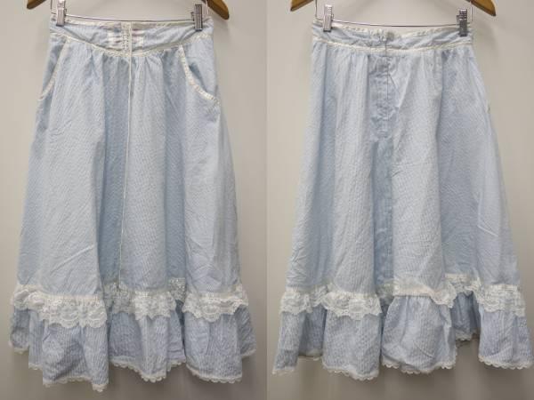 ガニーサックスGUNNE SAX70sビンテージロングスカート【11】衣装レトロ_画像1