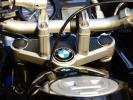愛機を傷から守る!! 08-12 BMW R1200GS ADVENTURE アドベンチャー トップブリッジ クランプ カーボン柄 ヨークカバー MOTORRAD 送料164円