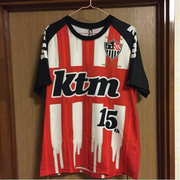 ケツメイシ 15周年 サッカーTシャツ Lサイズ 着用1回のみの美品!