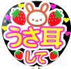 嵐 Kis-My-Ft2 SexyZone ジャニーズWEST Hey!Say!JUMP! NEWS KAT-TUN 関ジャニエイト SixTONES Mr.KINGPrince ファンサ 手作りうちわ