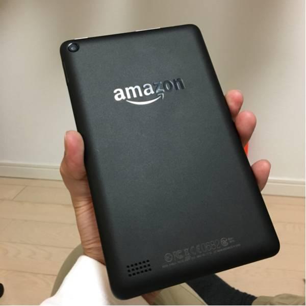 【美品】Amazon Kindle Fire タブレット 8GB ブラック_画像3