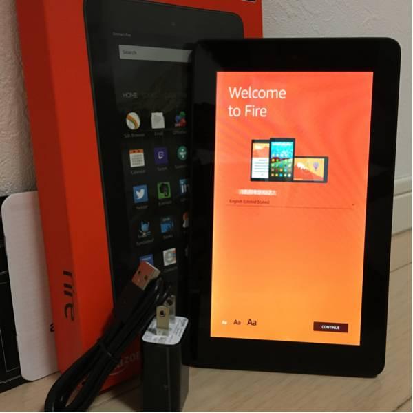 【美品】Amazon Kindle Fire タブレット 8GB ブラック