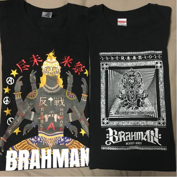 brahman 10-feet ロットン g-freak sim 他 バンド、フェスTシャツ詰め合わせ 計8枚 ライブグッズの画像