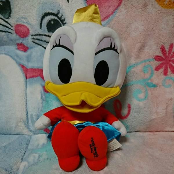 【ディズニーシー】 ワゴンゲーム アブースバザール 景品 ぬいぐるみ 『デイジー』 ディズニーグッズの画像