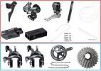 未使用 6870 Di2 シマノ 電動 アルテグラ 内装セット クランク,前後ブレーキ,スプロケ,チェーン追加オプション可能