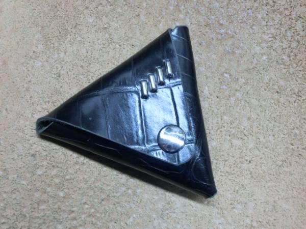 型押しクロコレザーコインケース(スタッズ仕様Type2) 新品 小銭入れ