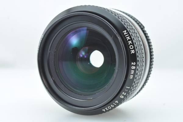 ★極上美品★ニコン NIKON AI NIKKOR 28mm f2.8 ★完動★#252