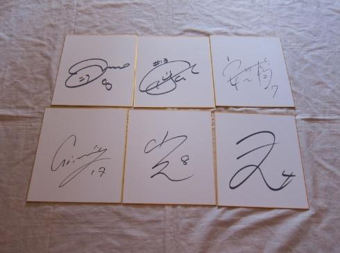 宮間、澤、猶本選手他直筆サイン色紙11枚セット女子なでしこジャパン日本代表