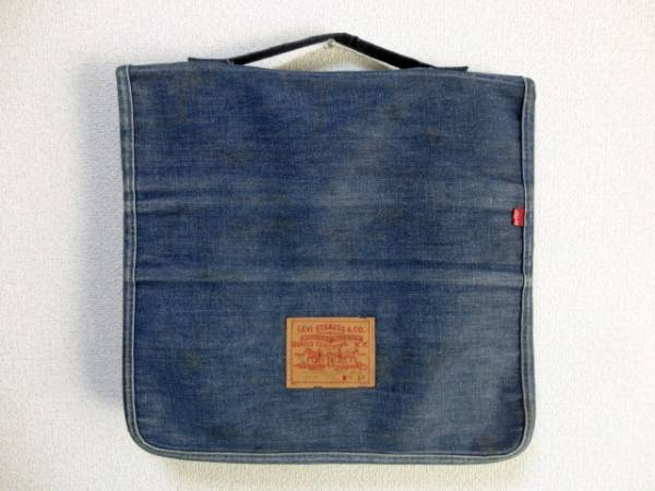 USA製 1980年代 80's リーバイス Levi's デニムクッション インディゴ 非売品 ノベルティ 販促グッズ 送料無料