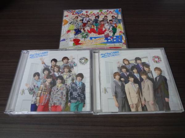 ★☆Hey! Say! JUMP Come On A My House 初回+通常 CD+DVD 帯付き 即決☆★