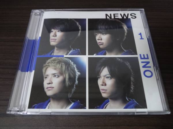 ★☆NEWS ONE 初回A CD+DVD 即決☆★