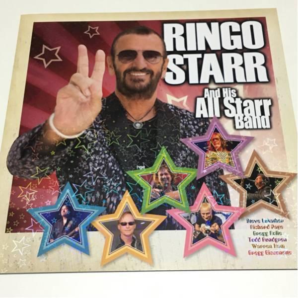 リンゴ・スター パンフレット 2016年 Ringo Starr The Beatles