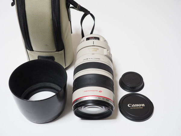 ★☆Canon EF 100-400mm F4.5-5.6L IS USM メーカー整備済☆★