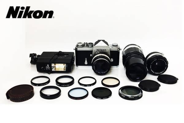 Nikon/ニコン カメラ F NIKKOR-H 1:2 f=150㎜ レンズ フィルター ストロボ おまとめ 12点セット hal