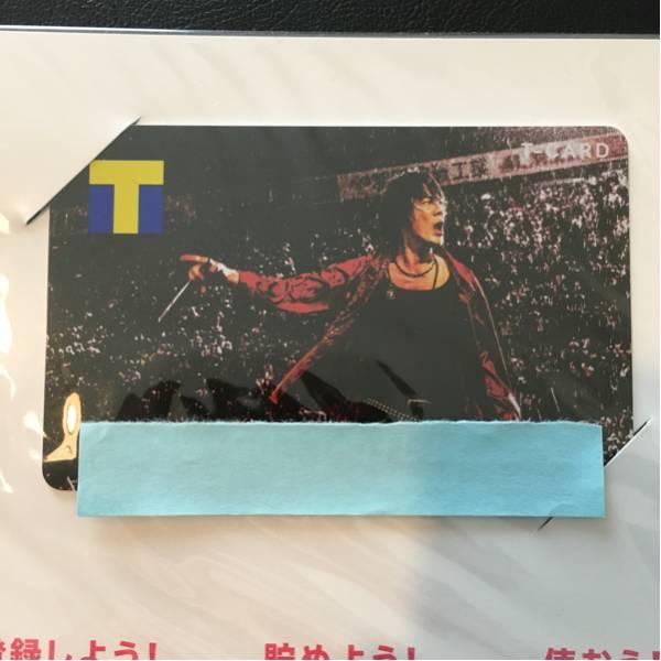 【新品未登録】氷室京介 Tカード TSUTAYAカード ツタヤカード T CARD ライブグッズの画像