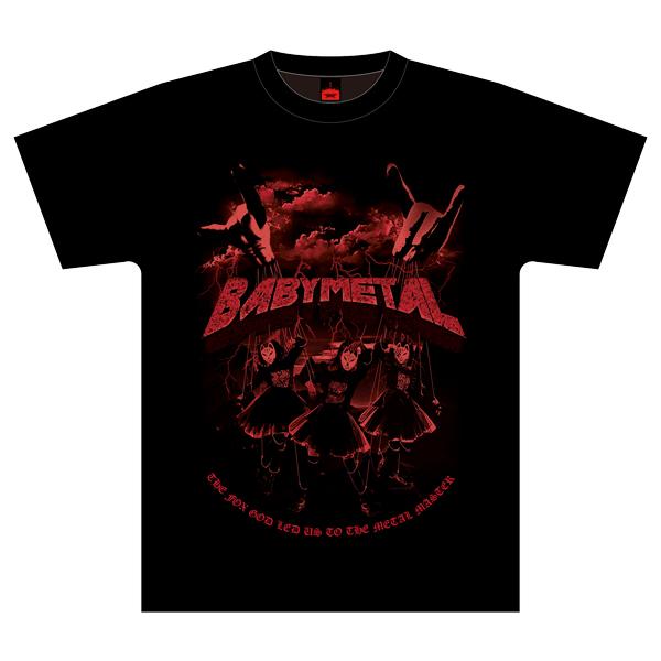 【新品】BABYMETAL「METAL DAWN」TEE Lサイズ THE ONE限定 メタリカ ライブグッズの画像