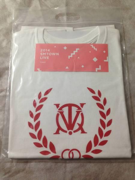 TVXQ 東方神起 Tシャツ 2014 SMTOWN LIVE 公式グッズ ライブグッズの画像