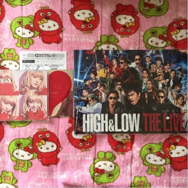 HiGH&LOW THE LIVE スマプラ ステッカー EXILE TRIBE Dream Ami ワンコイン ライブ・イベントグッズの画像
