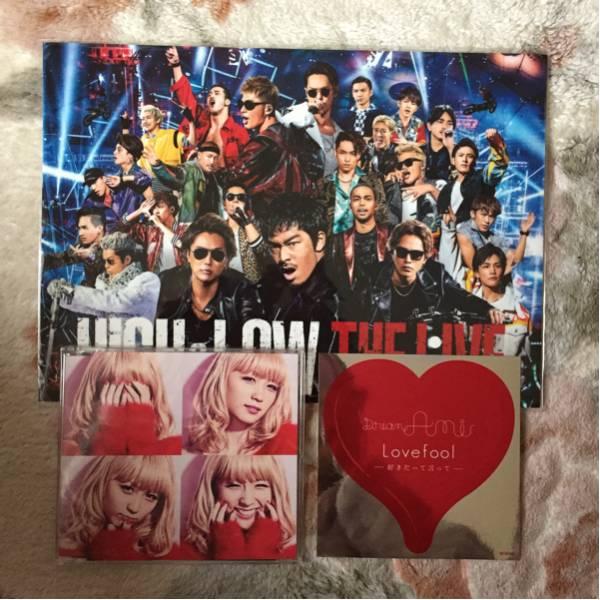 HiGH&LOW ステッカー Dream Ami Lovefool ワンコイン ライブ・イベントグッズの画像