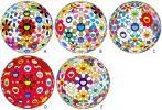 村上隆 ポスター Flower Ball 【フラワーボール・5枚セット】検草間彌生奈良美智杉本博司 ANDY WARHOL