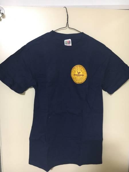 エルヴィス ジョニーキャッシュSUN STUDIO 正規品Tシャツ 古着 Sサイズ