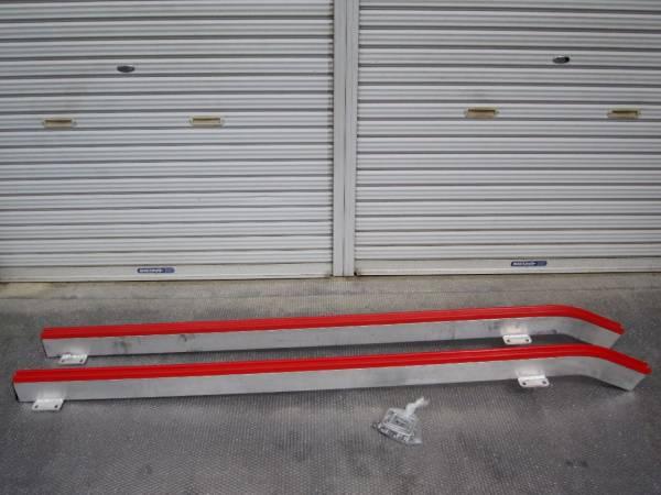 TIGHTJAPAN(タイトジャパン)製 MAXトレーラーロプロス用アルミフラットレール2本セット新品●オプションパーツ滑るレールカスタムパーツ