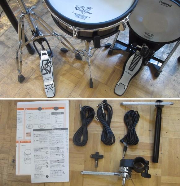 全国送料540円 Roland V-Drums TD-15KV-S KEYオリジナルアップグレードセット オマケ付き_画像3