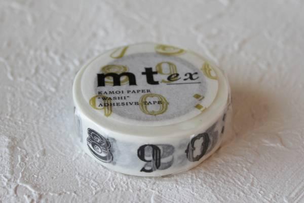 処分特価 mt ex 数字と記号・黒R マスキングテープ 即決_画像1