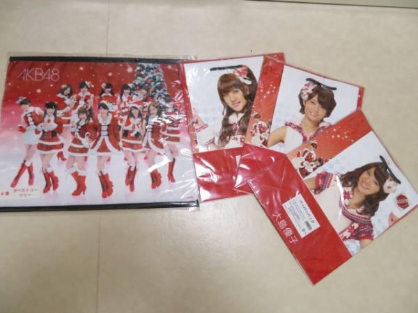 AKB48★タペストリー★ペーパーバッグ★大島・前田・高橋★合計4点 ライブ・総選挙グッズの画像