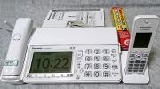 2016年製 デジタルコードレスFAX 子機1台付 ホワイト KX-PD604DL Panasonic パナソニック