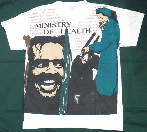 ビンテージTシャツ★ministry of health★シャイニング ホラー★ロックPUNK made in england