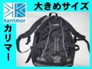 美品カリマーkarrimor黒×グレー 大きめリュック デイバッグ
