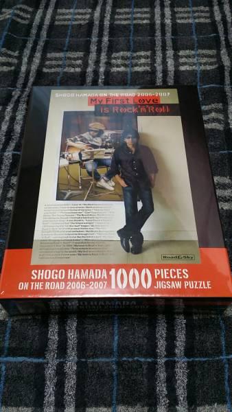 浜田省吾 ON THE ROAD 2006-2007 パズル ジグソーパズル 1000ピース 新品 未使用 未開封