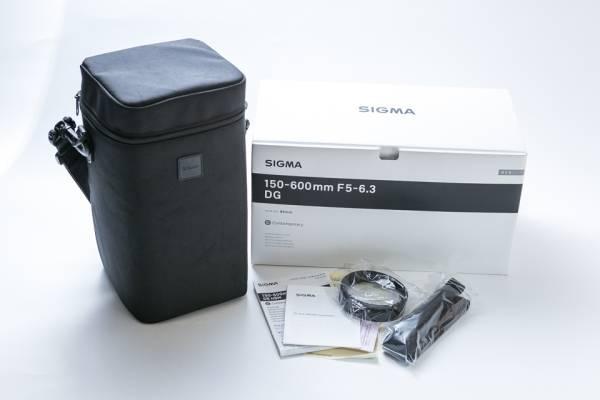 シグマ望遠ズームレンズ SIGMA 150-600mm F5-6.3 DG C 中古極美品