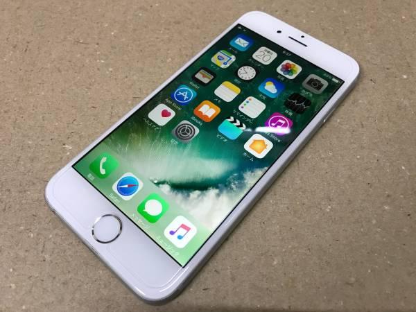 au iphone6 64GBシルバー 安心の「赤ロム保証」付き