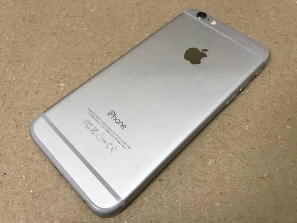 au iphone6 64GBシルバー 安心の「赤ロム保証」付き_画像2